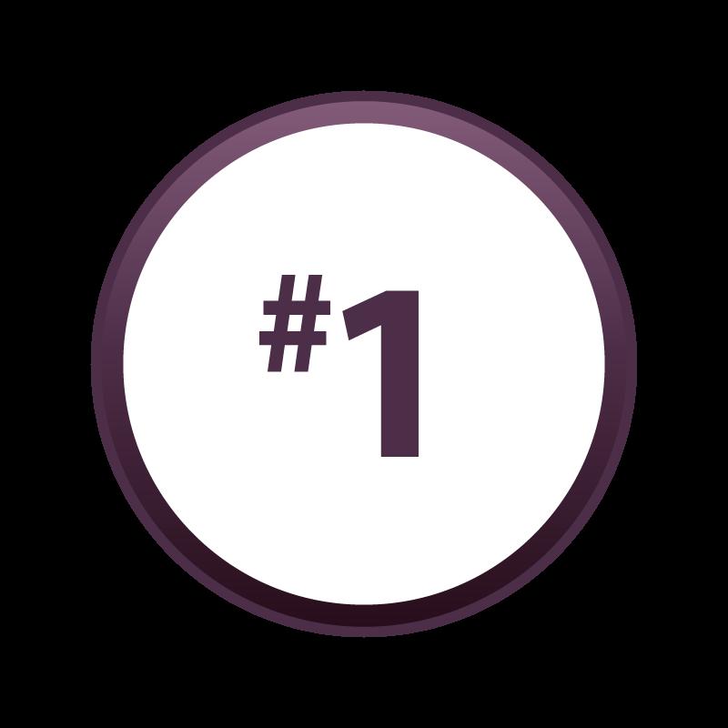 icône du chiffre un